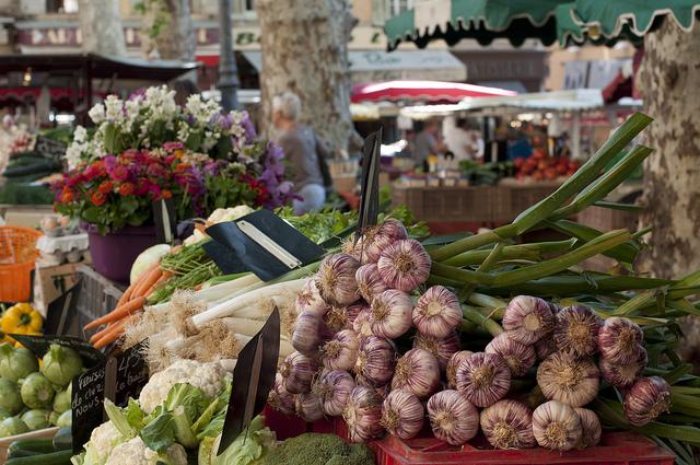 Markt von Aix-en-Provence