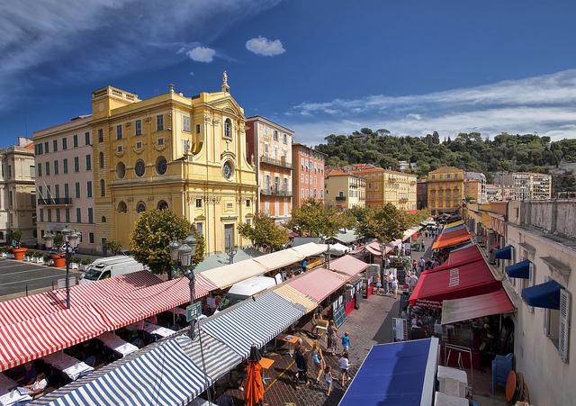 Markt von Nice cours Saleya