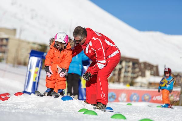 Skikursen in Alpe d'Huez