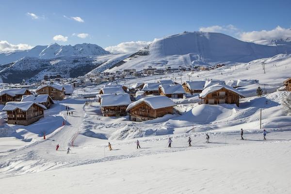 familienfreundliche Skiorte in Frankreich