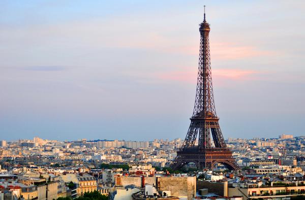 Eiffelturm vom Arc de Triomphe