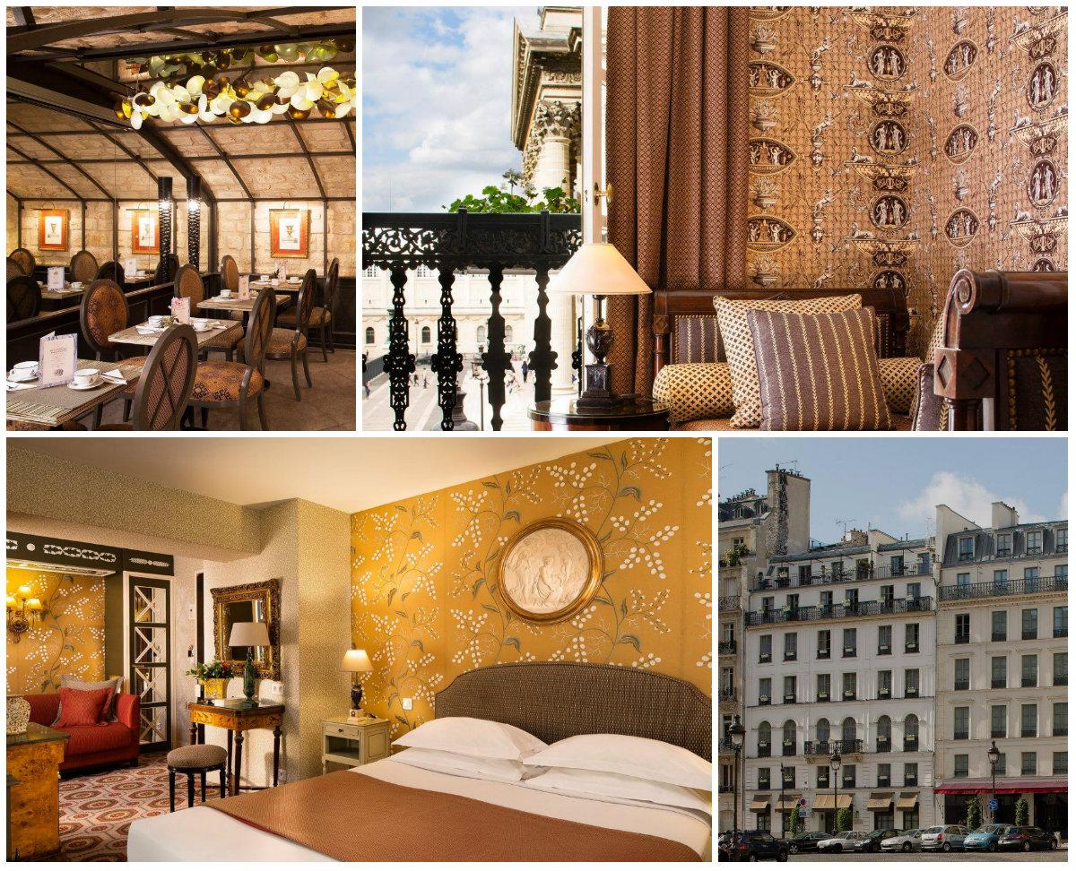 Hotel Rive Gauche Quartier Latin Grandes Hommes für ein romantisches Wochenende in Paris
