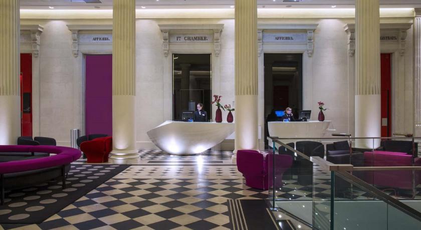 Radisson Blue Hotel im ehemaligen Palais de Justice von Nantes
