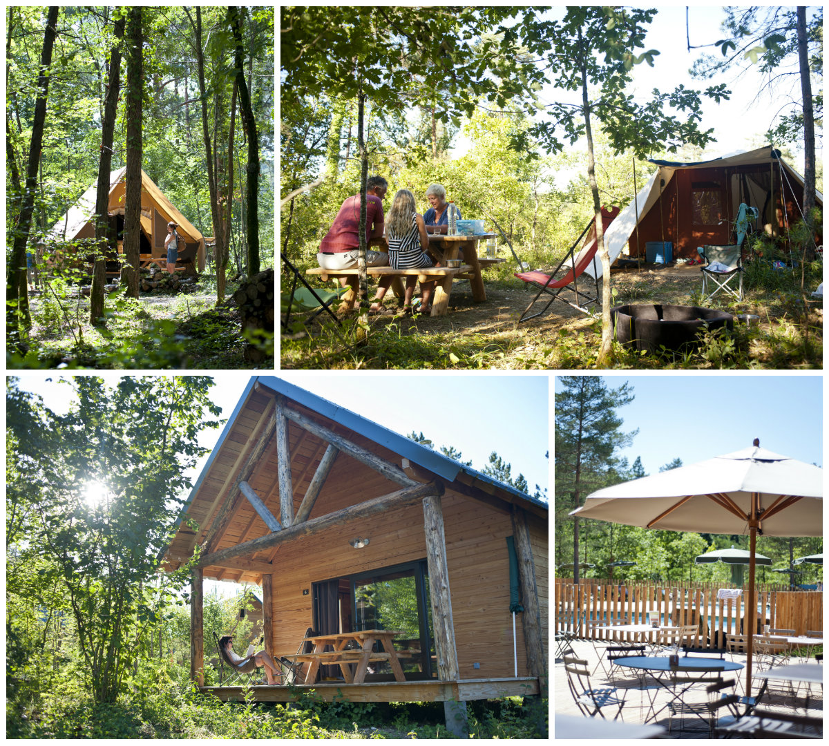 Glamping Huttopia Lanmary