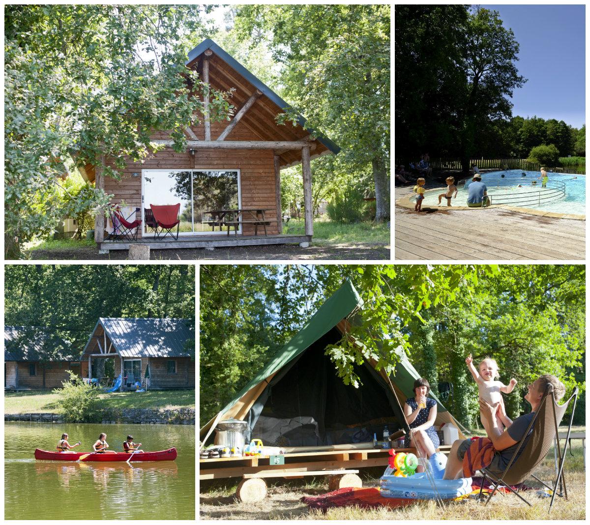 Campingdorf Huttopia Rille