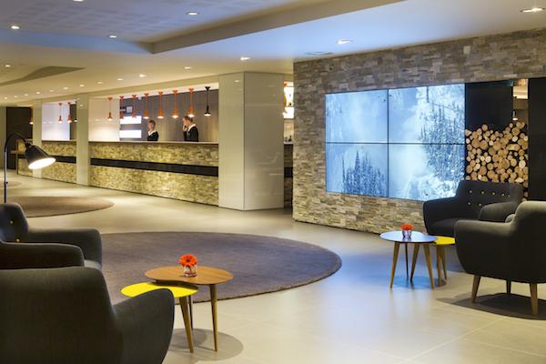 4-Sterne-Hotel HELIOPIC in Chamonix, franzoesische Alpen