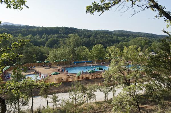 Campingdorf Huttopia Sud-Ardèche