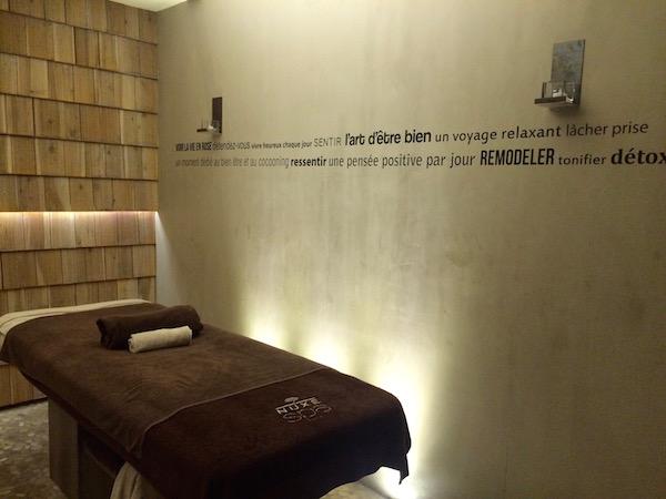 Wellnessbereich vom Hotel Heliopic in Chamonix