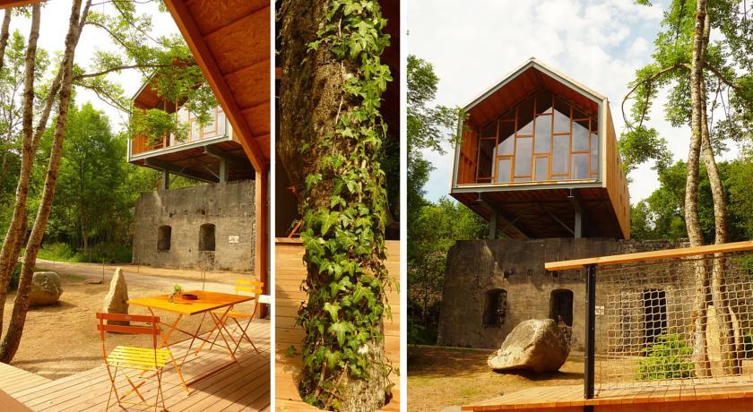 Moderne Architektur mitten in der Natur der Auvergne
