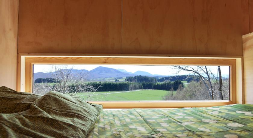 Cabane mit Vulkanblick: Natur der Auvergne im Schlafzimmer