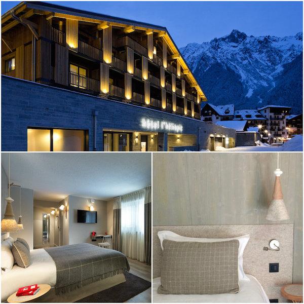 Hotelzimmer in Heliopic Chamonix