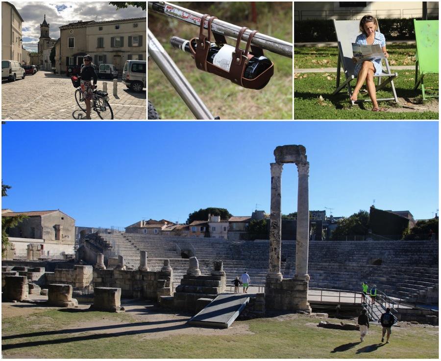 ViaRhona-Weg von Avignon nach Arles