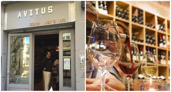 Avitus Weingeschäft in Avignon
