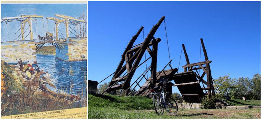 die kleine Zugbrücke von Van Gogh in Arles