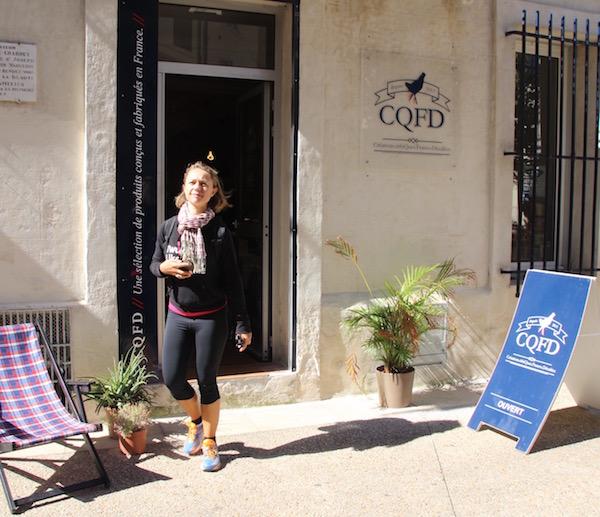 shoppen in Avignon beim CQFD