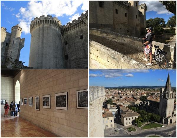 Die Burg von Tarascon an der Rhône
