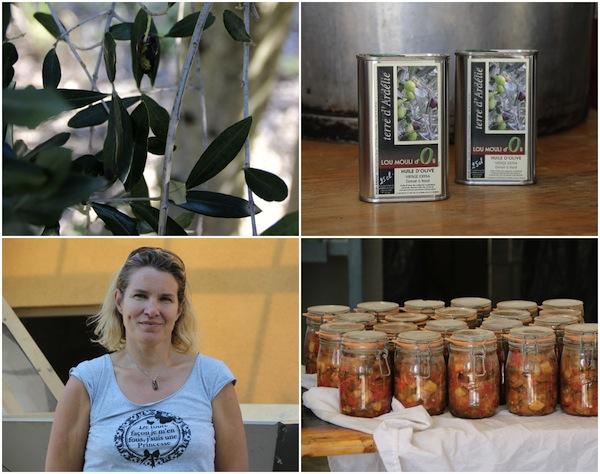 gepresstes Olivenöl aus Lou Moulin d'Oli Bourg Saint Andéol