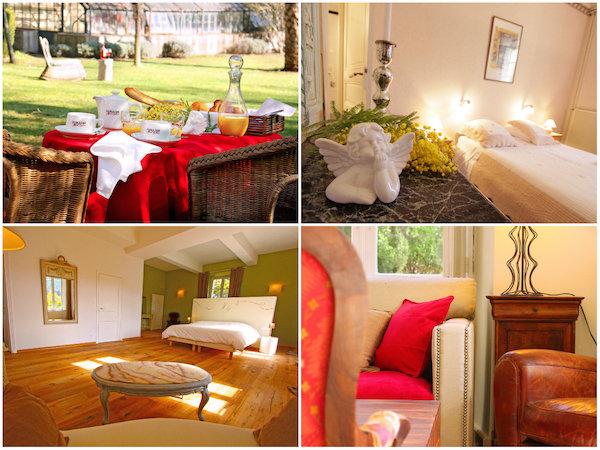 Prestige-Zimmer im Chateau Haut Gléon