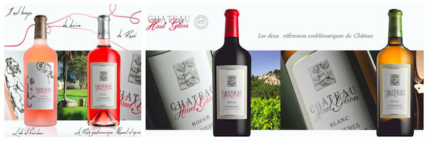 berühmten Weine des Château Haut Gléon, Vallée du Paradis