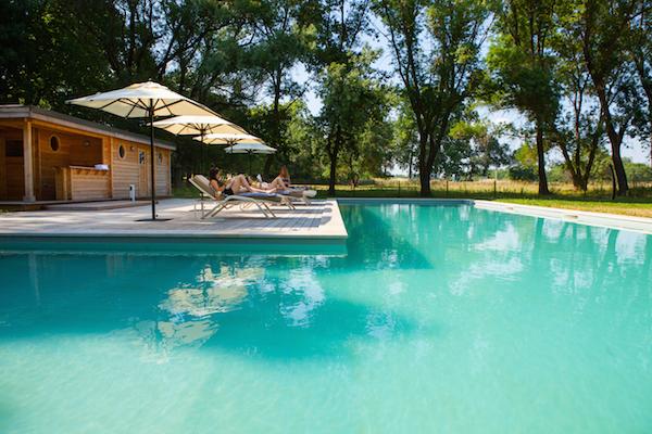 Schwimmbad vom Domaine de Biar