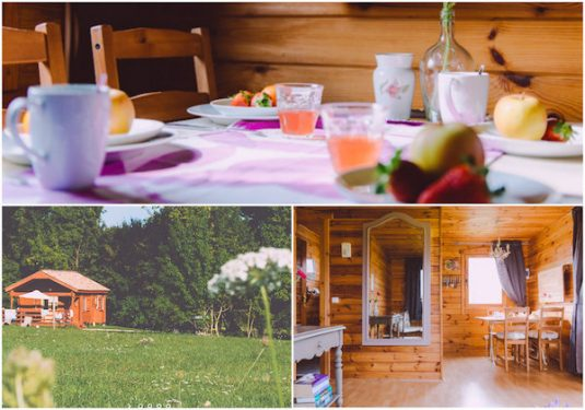 Glamping Lodges in der Dordogne
