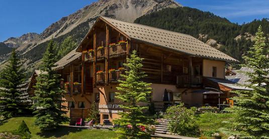 gemütliches berghotel Fransozicher Alpen