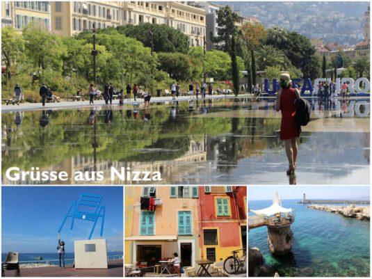 Carole und Josee sind in Nizza