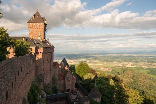 Burg im Elsass - Hohkoenigsburg