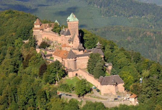 Chateau du Haut-Koenigsbourg - Schloss im Elsass