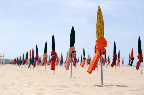 Schoenste strande Frankreichs Deauville
