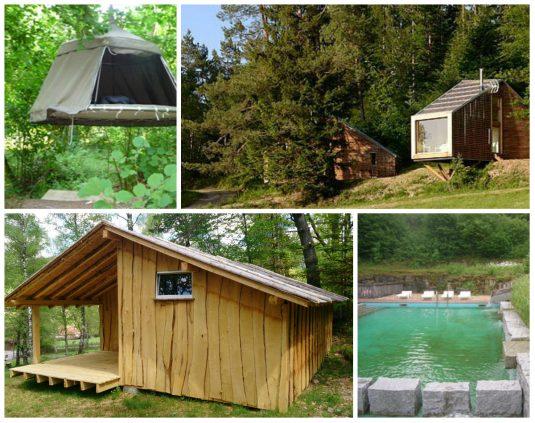 glamping Vogesen Campingplatz du Mettey