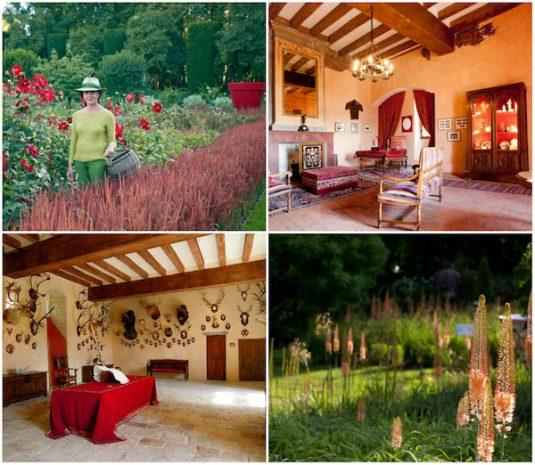 Garten Chateau-Du-Rivau Loire