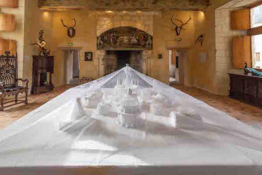 Moderne Kunst Chateau du Rivau Loire