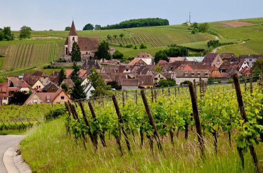 Hunawihr, Die schönsten Weindörfer im Elsass