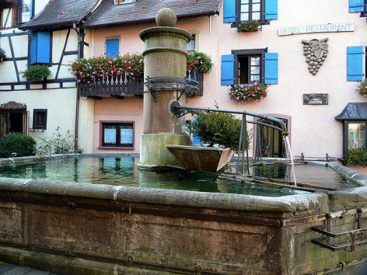 Die schönsten Weindörfer im Elsass, Eguisheiim