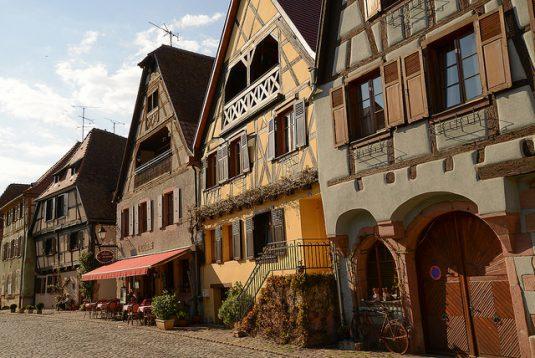 Die schönsten Weindörfer im Elsass, Bergheim
