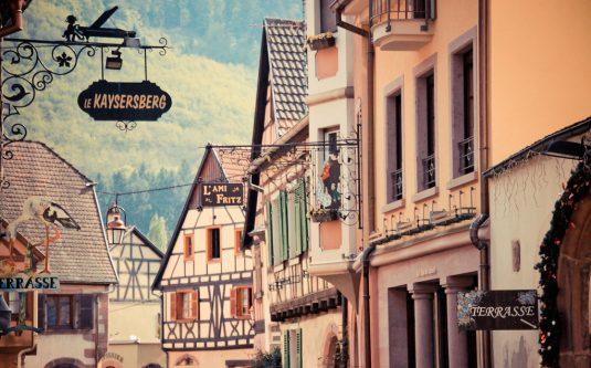 Die schönsten Weindörfer im Elsass, Kaysersberg