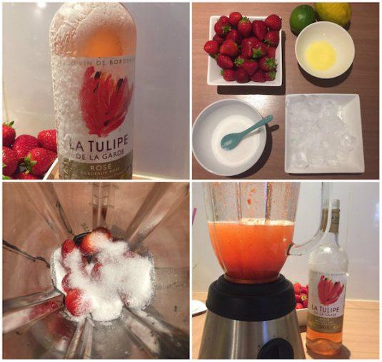 Frosé erfrischender Spätsommer-Drink