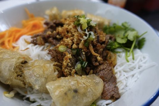 Vietnamesisches Essen in Paris