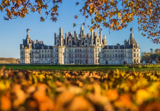 Chateau Chambord Loire Tal
