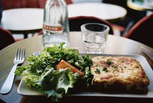 Croque Monsieur von Sébastien Gaudard in Paris