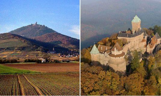 Chateau de Haut Koeningsbourg Elsass