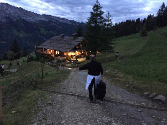 Philippe in Bergchalet Bed&Breakfast La ferme des Vonezins