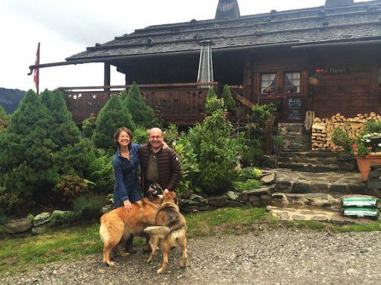 B&B La Ferme des Vonezins in die Savoie: Carole Goelitz und Philippe