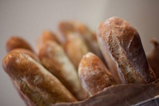 Baguette Brot aus Frankreich