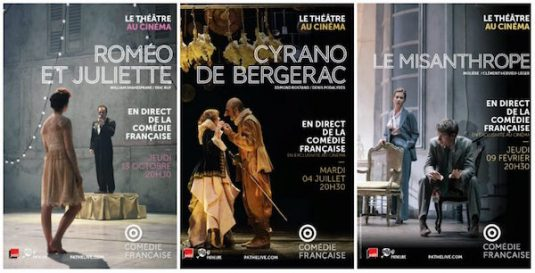Comedie Francaise im Pathe Kino