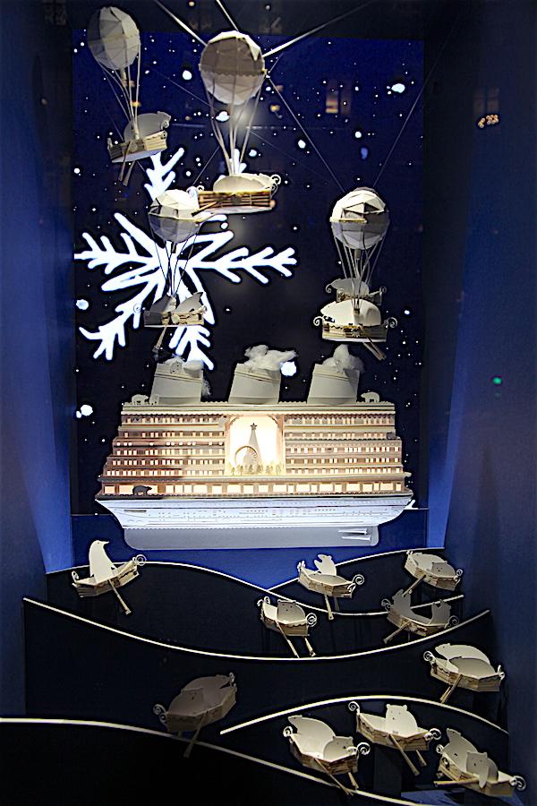 Weihnachts-Deko in Paris