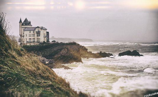 Biarritz an der französischen Südwestküste