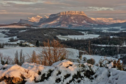 Die Ardèche im Dezember