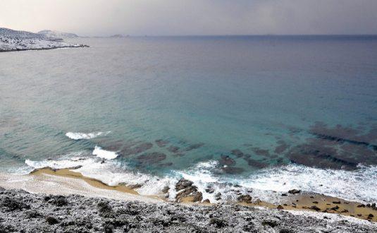 Strand des Badeortes L'Ile-Rousse